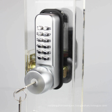 Hardware Zinc Alloy Keypad Code Mechanical Door Wock sin batería